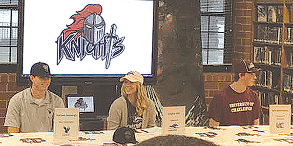 Knights sign letters of intent