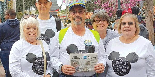 Village News goes to Disney World