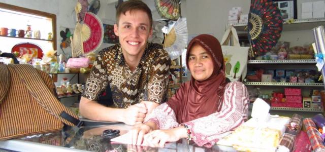 World traveler: TDHS grad enjoys helping others