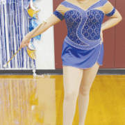 Teen twirlers spin their way to glory