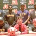 Six Warriors sign to play  football at the next level