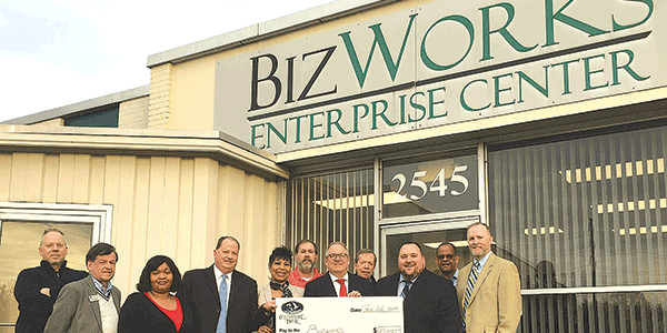 Chesapeake Bank donates $10K to BizWorks
