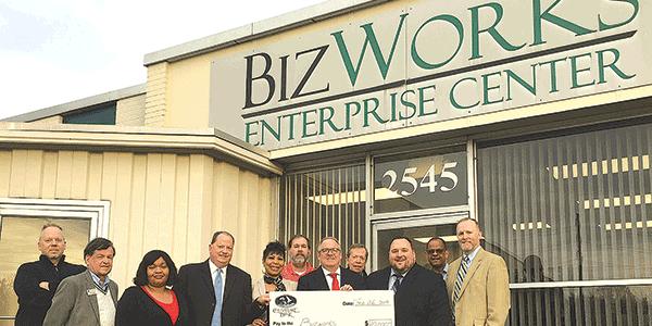 Chesapeake Bank donates $10K to BizWorks