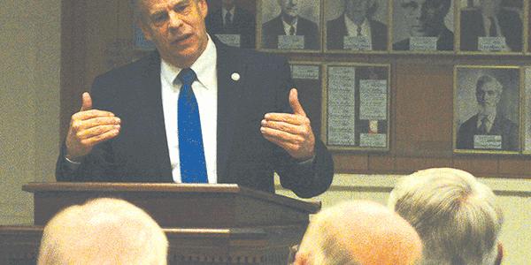 House Speaker gives legislative update