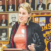 Lions Club hears about Regenesis Life Ministries