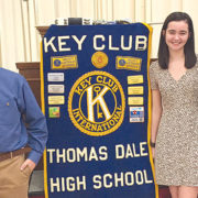 Key Club installs officers