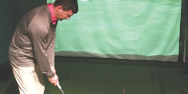 Bunkering down: A 'unique' in-door golf experience