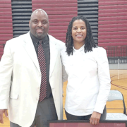 Johnson honored for record-setting career at TDHS