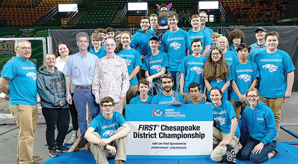 RoboHawks earn invitation to Detroit robotics competition