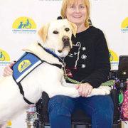 Navy veteran gets assistance dog