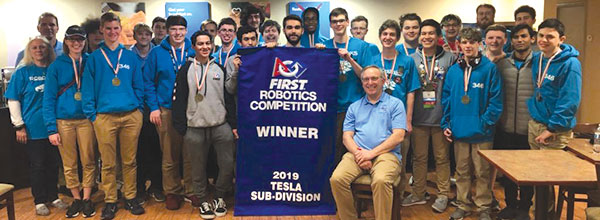 L.C. Bird robotics team reaps success at int'l competition