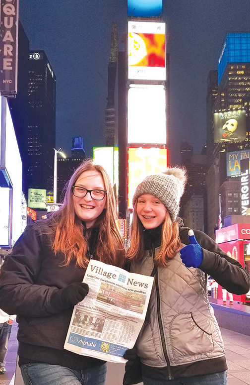 Village News goes to Times Square