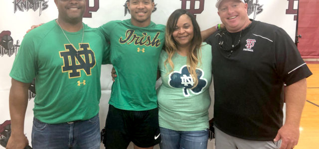 Tyree signs with Notre Dame