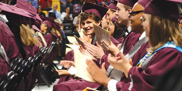 Thomas Dale High School graduates 545