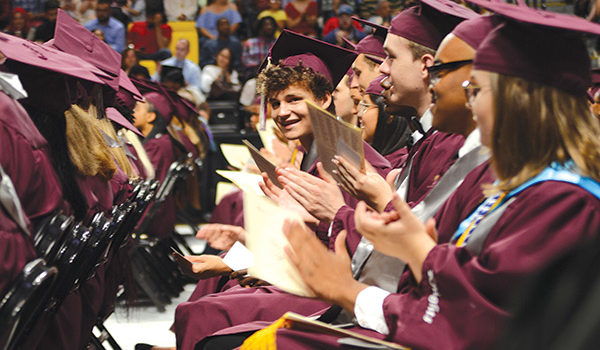 Thomas Dale High School graduates 545