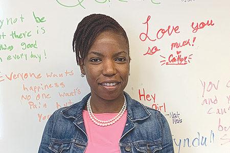 Bohler enjoys counseling students
