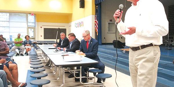 Carvana explains plans for Woods Edge Road site