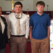 Ivey Memorial UMC and Gettings scholarships awarded