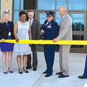 Defense Logistics Agency christens new building