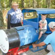 'Mr. Fixit': Bishop built child's train, has worked on planes and ships