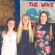 Woodland Pond swim team graduates