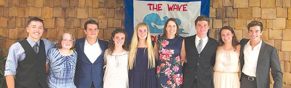 Woodland Pond swim team graduates