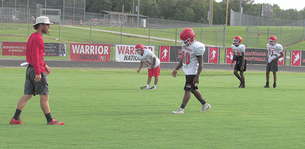 Football: Warriors getting ready to battle