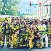 Chesterfield firefighters honor 9/11 fallen