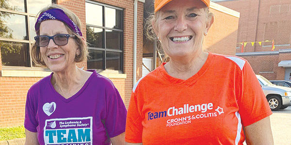 Local women train for marathon: Murphy, Moody aim to raise funds for cures