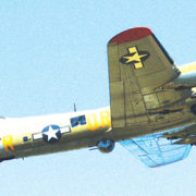 B-17 bomber crashes