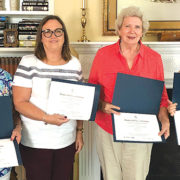 Daughters of the American Revolution honored