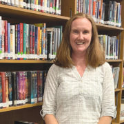 Gravely enjoys being a librarian at Carver C&CA