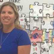 The happy scientist: Coppler enjoys teaching at Elizabeth Davis Middle School