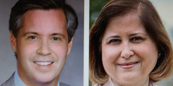 Sturtevant an 'independent voice,' Hashmi on the left
