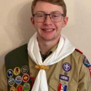King earns Eagle Scout rank