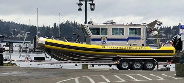 New fire boat coming to Chesterfield
